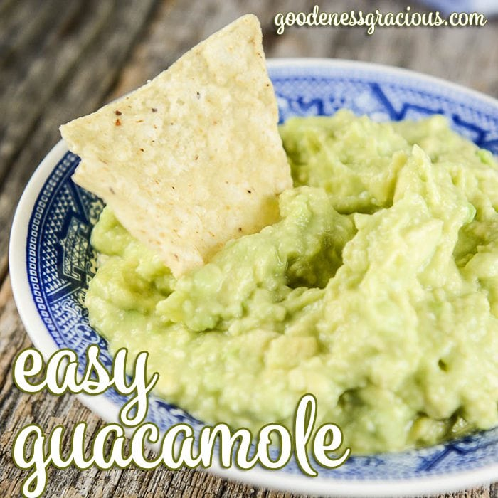 Easy and delicious guacamole recipe