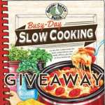 Busy Day Slow Cooking Cookbook Giveaway