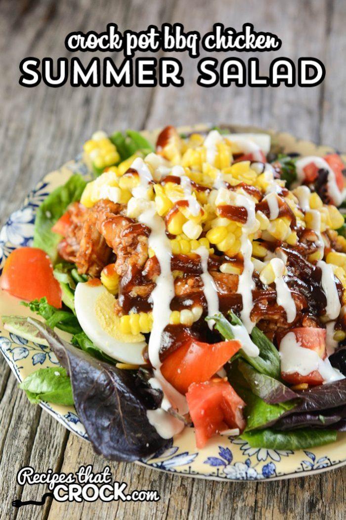 Quick Easy Crock Pot Bbq Chicken Salads Sandwiches Recipes That Crock