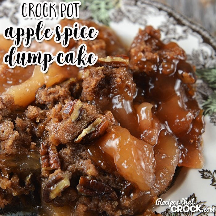 Apple Spice Cake Crock Pot Recipe