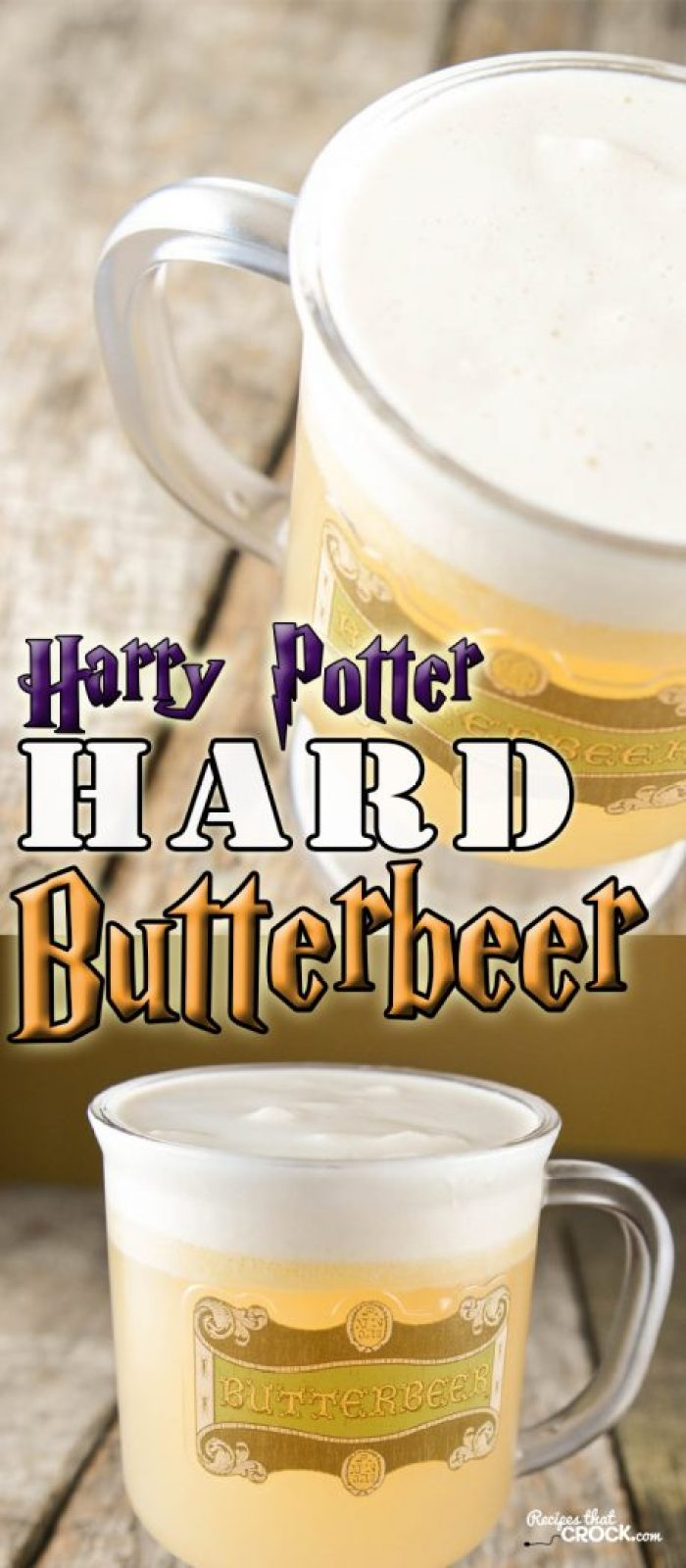 Are you looking for a tasty brew to share with your fellow Muggles? This Harry Potter Hard Butterbeer Recipe is an alcoholic version of the beloved beverage from the Harry Potter books, movies and theme park.