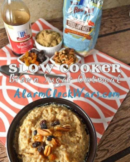 Brown Sugar Oatmeal