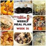 Meal Planning: Weekly Crock Pot Menu 31