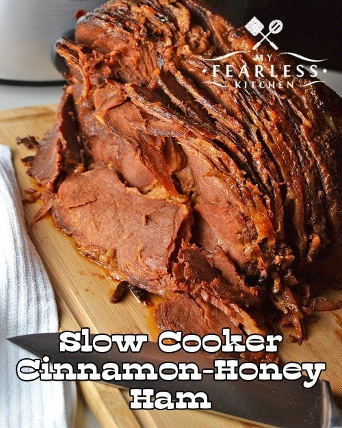 Slow Cooker Cinnamon Honey Ham