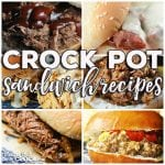 This week for our Friday Favoriteswe have some yummy Crock Pot Sandwich Recipes like Crock Pot Buffalo Chicken Sliders, Crock Pot Hot Pastrami Sandwiches, Crock Pot Mississippi Beef Sandwiches, Crock Pot Cheeseburger Sandwiches, Crock Pot Apple BBQ Chicken Sandwiches and Crock Pot Virginia Style Shredded Beef Sandwiches!