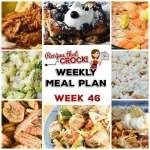 Meal Planning: Weekly Crock Pot Menu 46