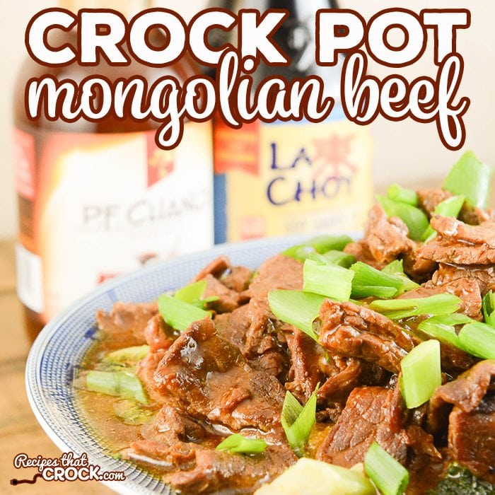 Are you looking for an easy recipe to make Mongolian Beef at home? Our Easy Crock Pot Mongolian Beef recipe is super simple to toss in your slow cooker and has everyone asking for seconds!