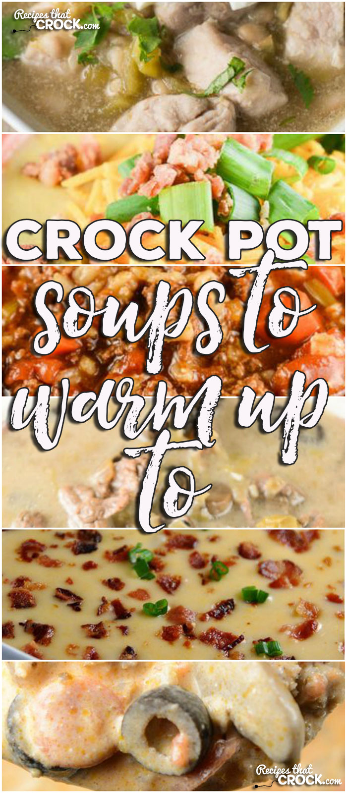This week for our Friday Favoriteswe have some awesome Crock Pot Cheesy Vegetable Soup,Low Carb Crock Pot Pizza Soup,Crock Pot Turkey Bean Soup,Crock Pot Easy Cheesy Potato Soup,Crock Pot Minestrone Soup,Crock Pot Chicken Noodle Soup,Crock Pot Turkey Tortilla Soup, Crock Pot Sausage Potato Soup,Crock Pot Steak Mushroom Soup,Crock Pot French Onion Soup,Crock Pot Chicken Wild Rice Soup,Crock Pot Beef Barley Soup,Crock Pot Chicken Pot Pie Soup,Crock Pot Loaded Cheesy Cauliflower Soup,Buffalo Chicken Soup,Crock Pot Steak Soup,Crock Pot Chile Verde Soup andSlow Cooker Stuffed Pepper Soup.