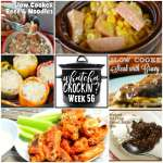 Slow Cooker Beef and Noodles – WCW Week 56