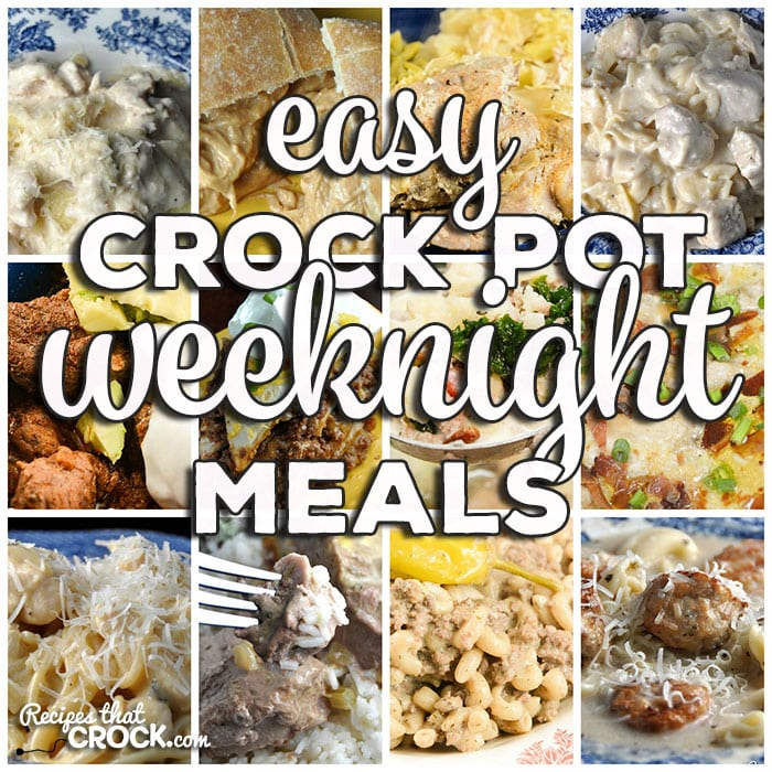 This week for our Friday Favoriteswe have Easy Crock Pot Weeknight Meals like Crock Pot Meatball Tortellini Soup,Slow Cooker Texas Chili,Crock Pot Creamy Mississippi Beefy Mac, Crock Pot Pork Chops – Melt In Your Mouth, Crock Pot Beefy Tostada Pie, Slow Cooker Chicken Stroganoff, Crock Pot Pork Chops and Cabbage, Low Carb Crock Pot Creamy Bacon Onion Chicken, Creamy Crock Pot BBQ Chicken Sandwiches,Crock Pot Cheesy Chicken Spaghetti, Crock Pot Goulash, Crock Pot Chicken Alfredo Ravioli Casserole, Low Carb Crock Pot Zuppa Toscana Soup and Crock Pot Pull Apart Pizza Bread.