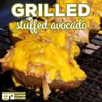 Grilled Stuffed Avocado (Low Carb)