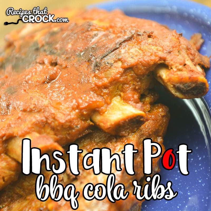 Are you looking for a quick and simple way to make BBQ Ribs? Our Instant Pot BBQ Ribs are so tender and full of smoky flavor! AND, they are a great low carb recipe too! #InstantPot #LowCarb #Ribs