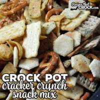 It doesn't get much easier or tastier than this Crock Pot Cracker Crunch Snack Mix. It is also nut-free for anyone who goes to school or works on a nut-free campus!
