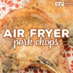 Our Air Fryer Pork Chops are incredibly easy to make and produce perfectly tender pork chops every time. This recipe works great in traditional air fryers and using the Air Crisp feature of the Ninja Foodi. Low Carb too!
