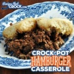 This recipe has been made in our family in the oven for years, so I thought I should give it a try in the crock pot! So I give you my Crock Pot Hamburger Casserole. You can thank me later. ;)