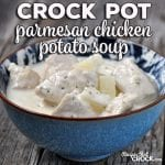 This Crock Pot Parmesan Chicken Potato Soup recipe has a wonderfully delicious flavor and is simple enough for anyone to make!