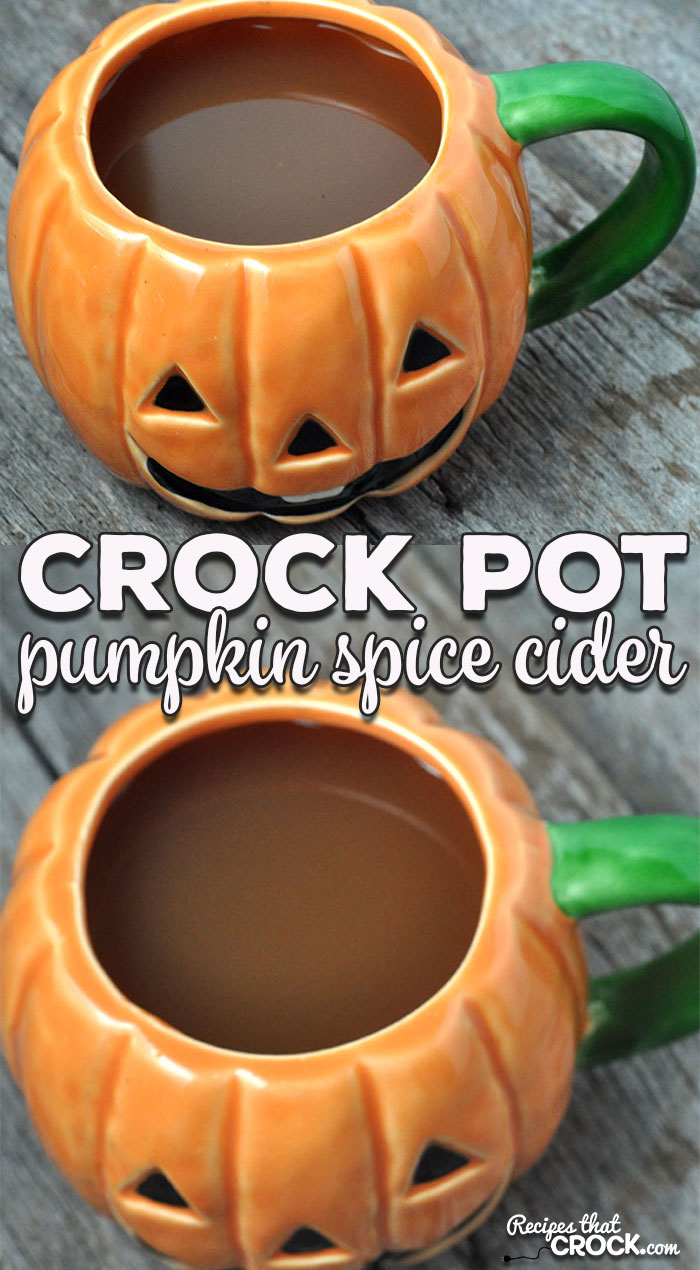 If you are a pumpkin spice fan, then you don't want to miss this delicious Crock Pot Pumpkin Spice Cider recipe! It is perfect for your next get-together!
