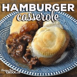 Looking for a delicious recipe that is super easy and super quick? Check out this Hamburger Casserole! Perfect for a weeknight dinner!