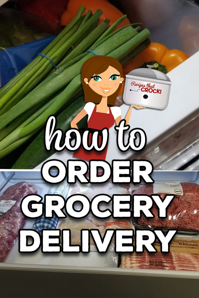 Are you wondering how to order groceries online? We share our tips for ordering from local grocery stores, online stores in bulk and grocery delivery services and apps.