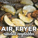Air Fryer Roasted Vegetables are an easy recipe to toss in your air fryer and enjoy as a savory side dish for just about any meal. We like to make these in our traditional air fryer, Ninja Foodi and Ninja Foodi Air Fry Oven.