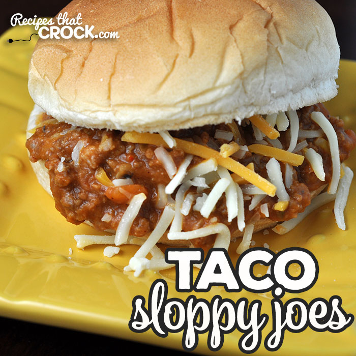 These Taco Sloppy Joes are easy to make, delicious and versatile! Whether you want a delicious sandwich, nachos or taco salad, this recipe is perfect!