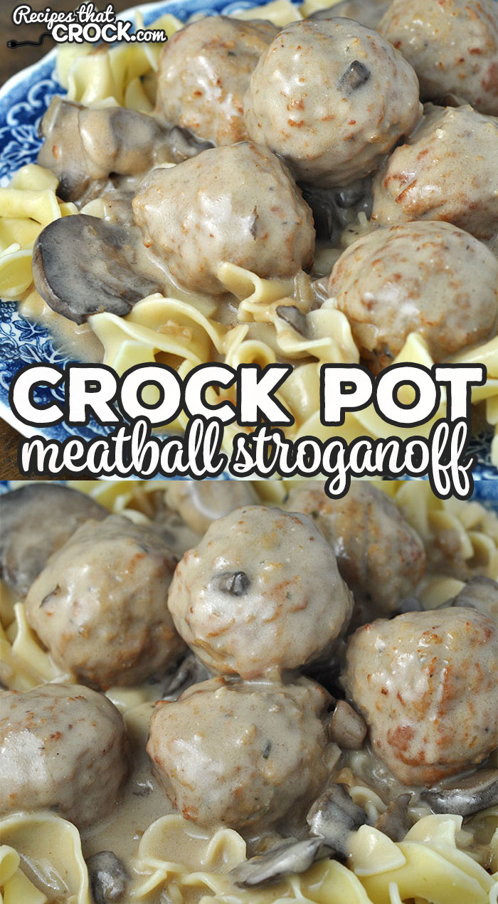 This Crock Pot Meatball Stroganoff recipe became an instant favorite in my house. With how easy and delicious it is, I'm sure it will be a favorite in your house too! via @recipescrock