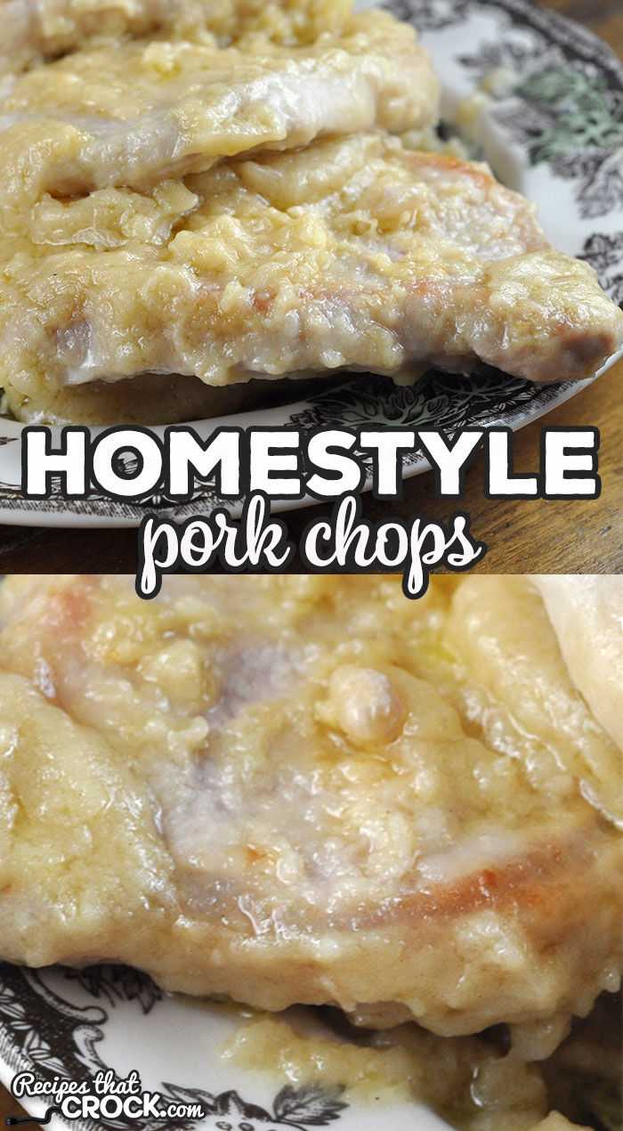 If you love our Crock Pot Homestyle Pork Chops, you are going to love this recipe that makes it into a stove top recipe you can make in a half hour flat! via @recipescrock