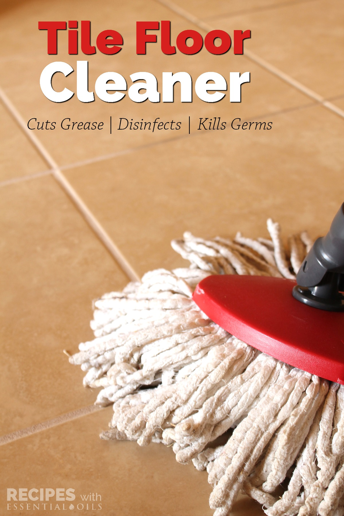 Homemade Tile Floor Cleaner Recipe  Recipes with