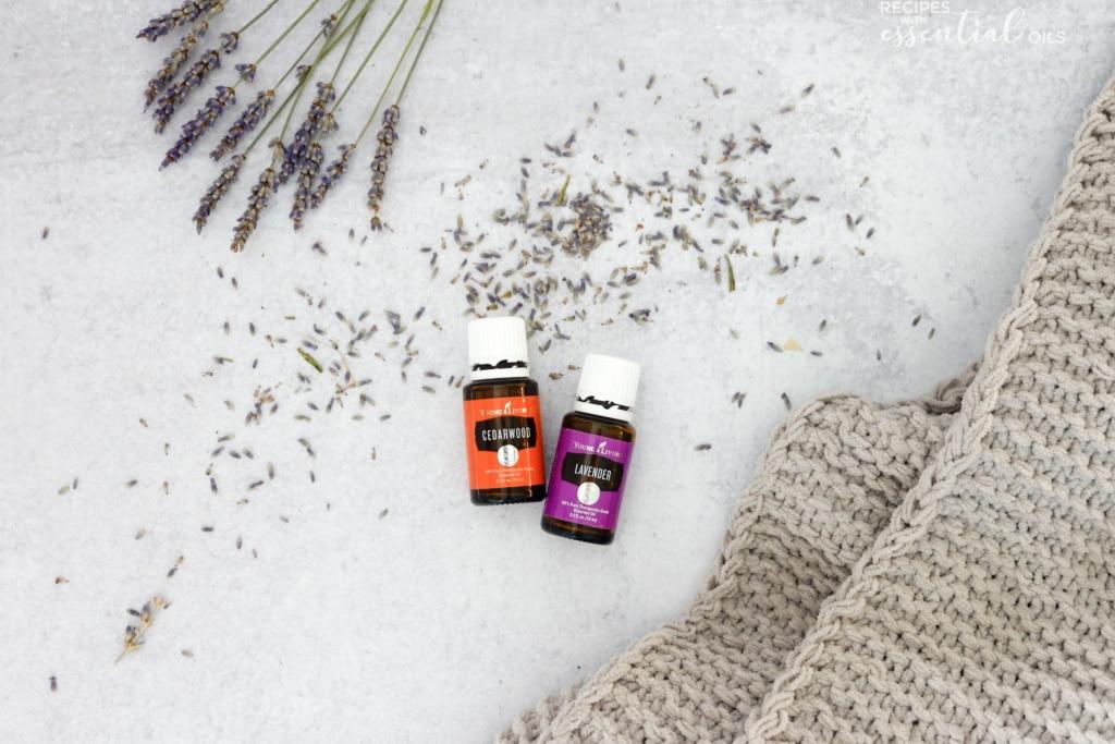 lavender cedar wood sleep diffuser blend