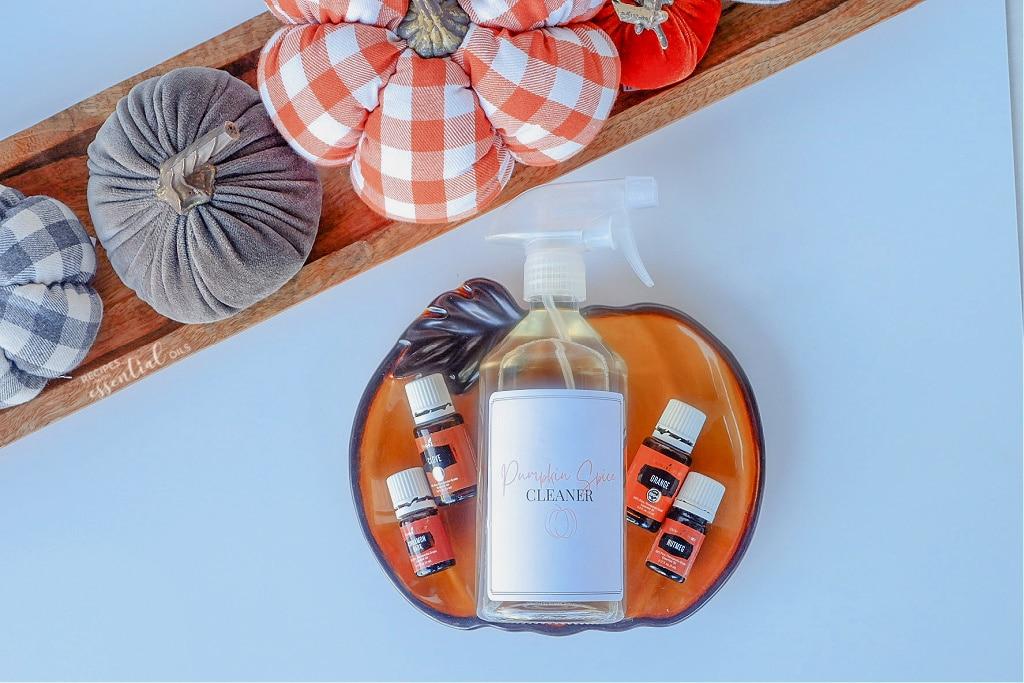 essential oil pumpkin spice cleaner