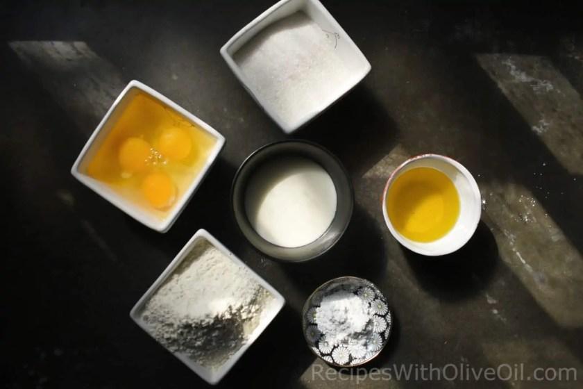 ingredients olive oil yogurt cake