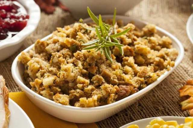 Welcome to my easy slow cooked homemade turkey stuffing recipe.