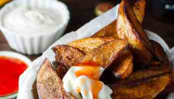 recipe: calories in potato wedges baked [30]