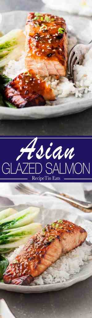 Asian Glazed Salmon | Made this last week, super for a quick midweek meal, INCREDIBLE flavour with just 5 ingredients!
