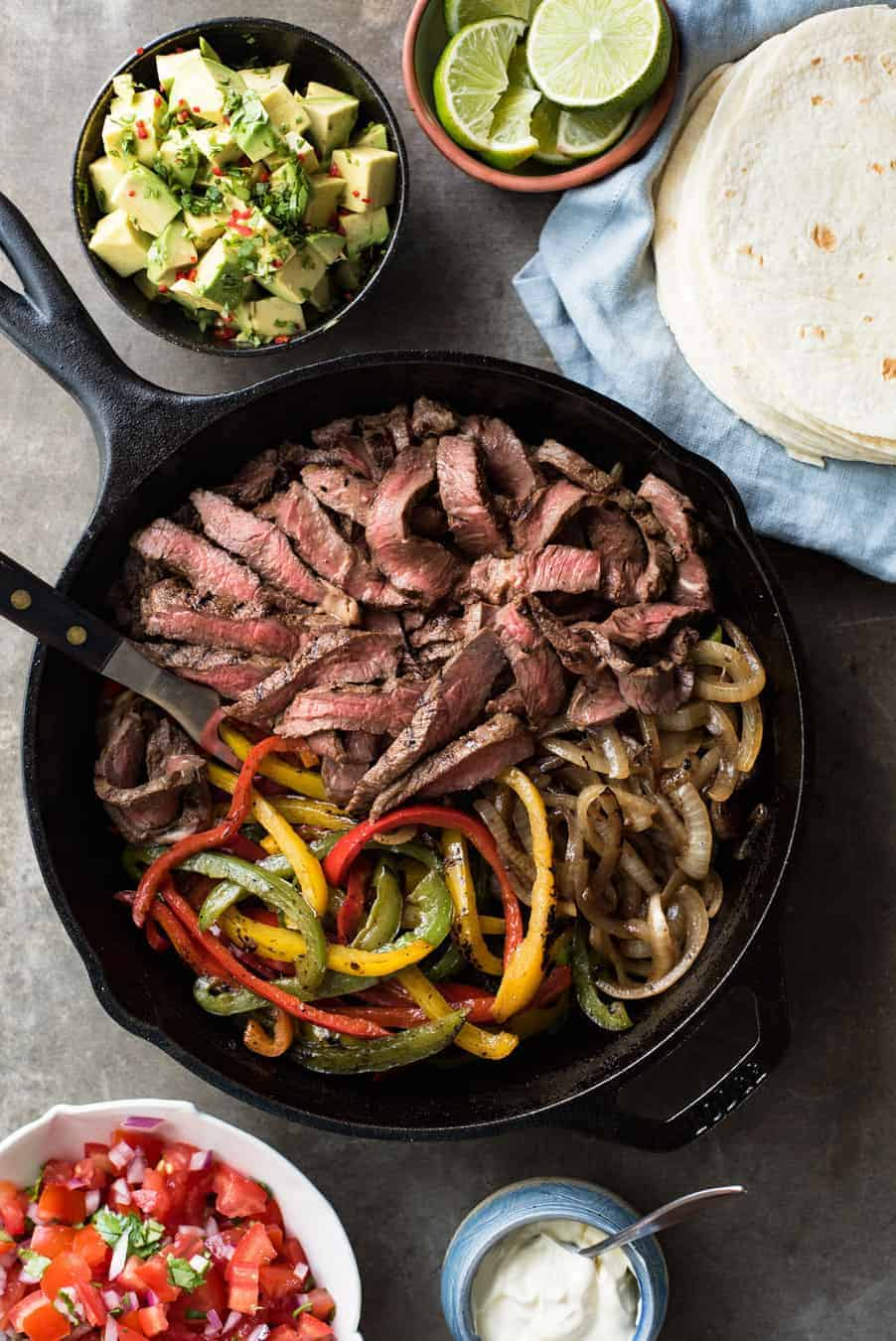 Beef Fajitas Recipetin Eats