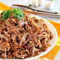 Pork Carnitas (Mexican Slow Cooker Pulled Pork)