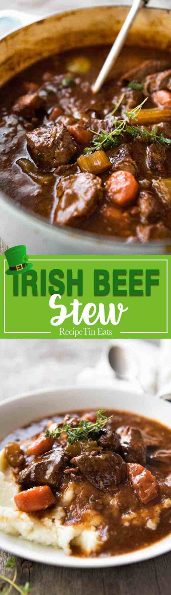 Irish Beef And Guinness Stew Recipetin Eats