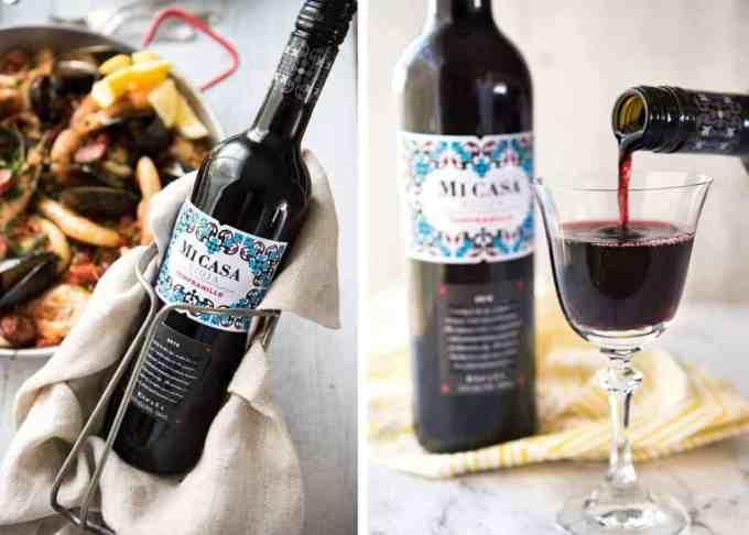 Spanish Wine for Paella - Mi Casa Rioja Tempranillo www.recipetineats.com