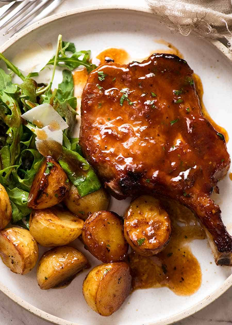 Read on for 10 breville smart oven recipes. Oven Baked Pork Chops With Potatoes Recipetin Eats