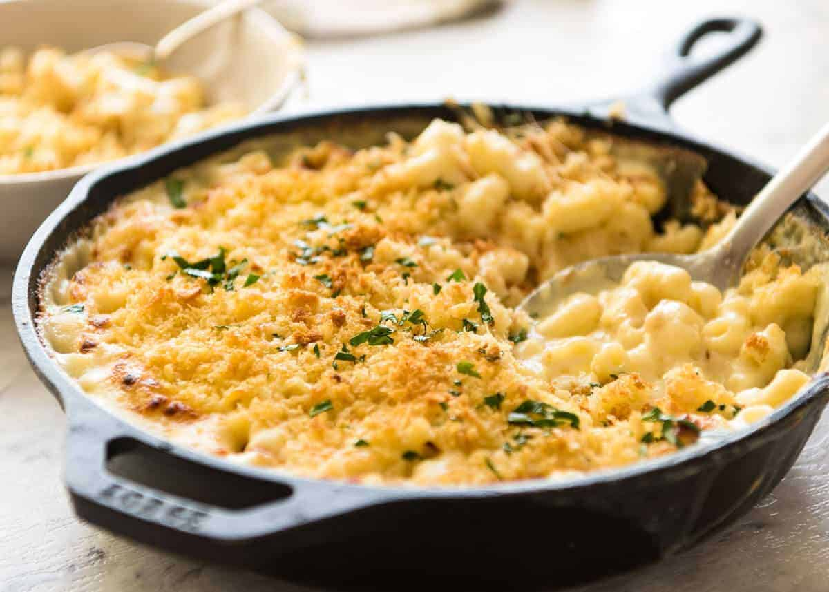 An epic Baked Mac and Cheese! Perfect in every way, the ultimate comfort food. www.recipetineats.com
