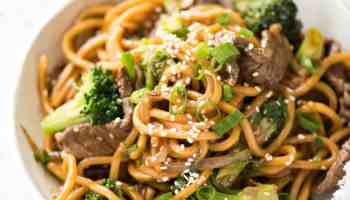 Chinese beef and broccoli recipetin eats chinese beef and broccoli noodles forumfinder Images