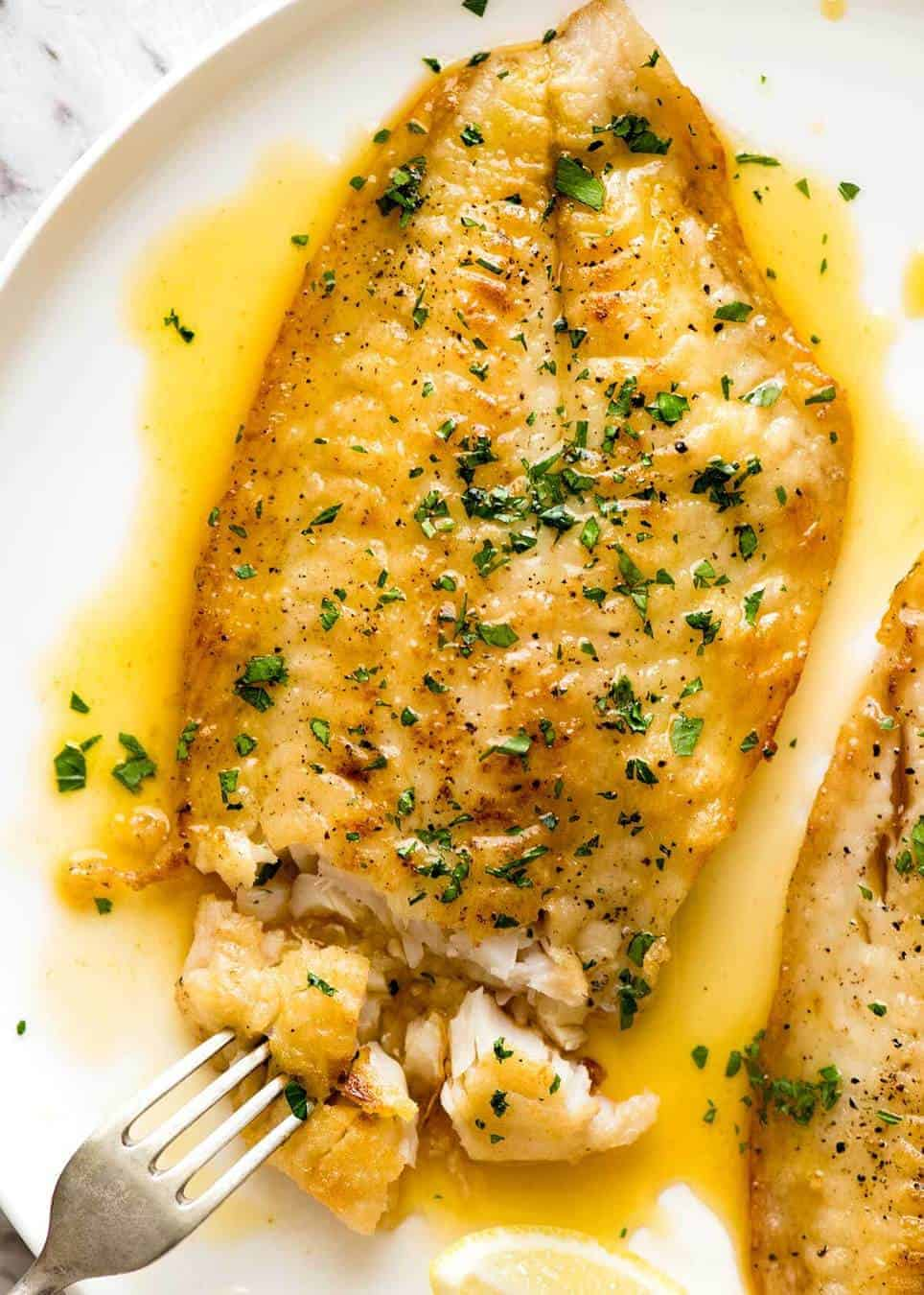 Lemon White Fish Fillets