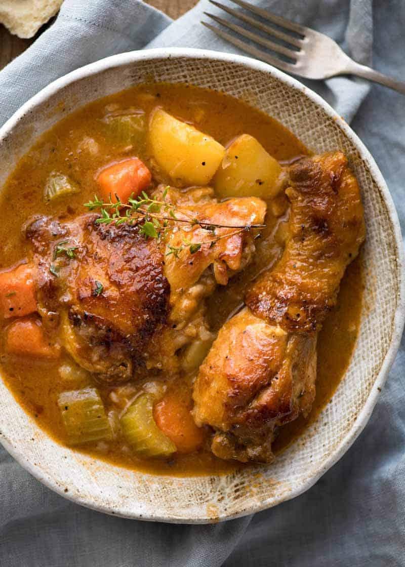 how to prepare a chicken stew