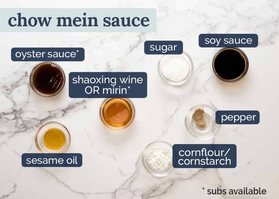 Ingredients in Chow Mein Sauce