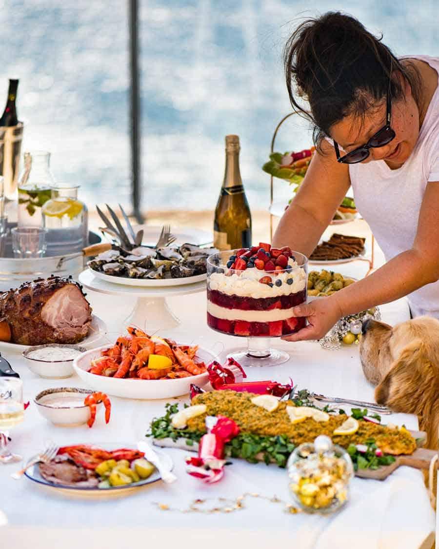 Aussie Summer Christmas Menu - Nagi RecipeTin Eats