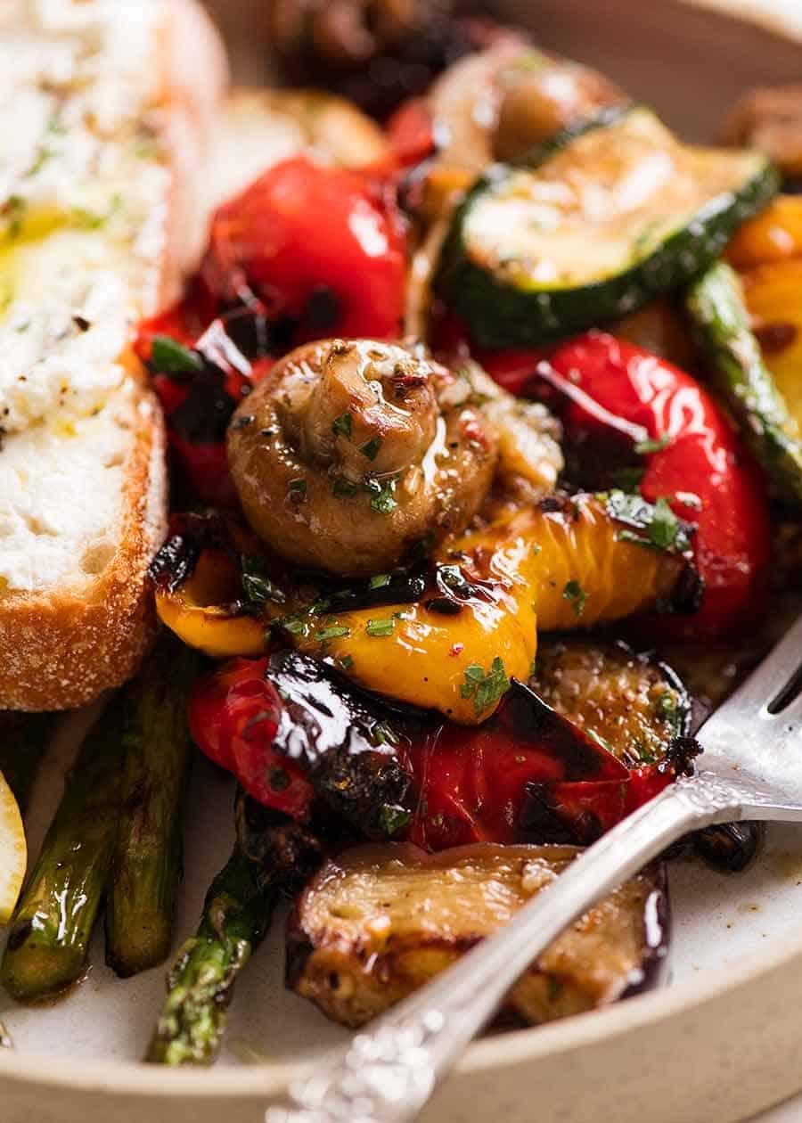 Marinated Grilled Vegetables 3
