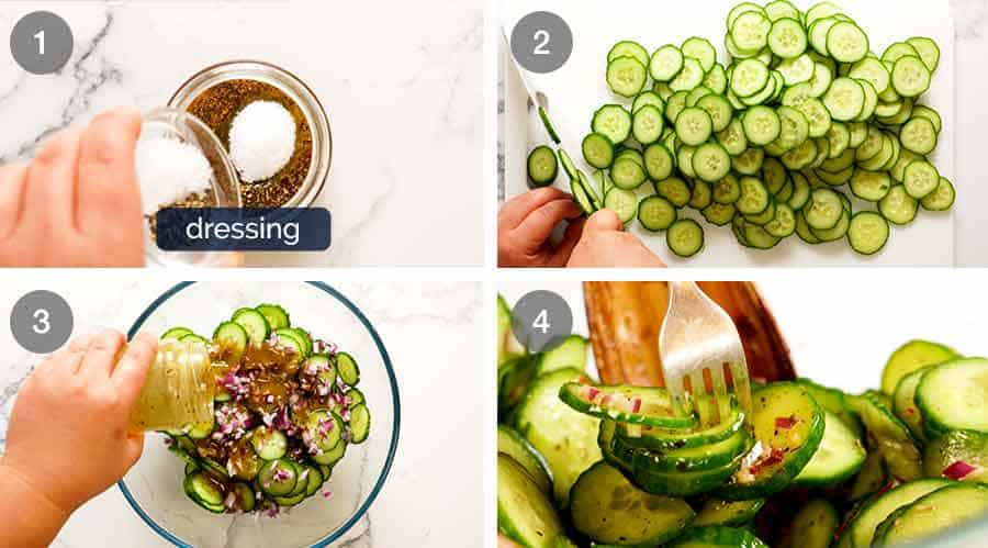 How to make Cucumber Salad