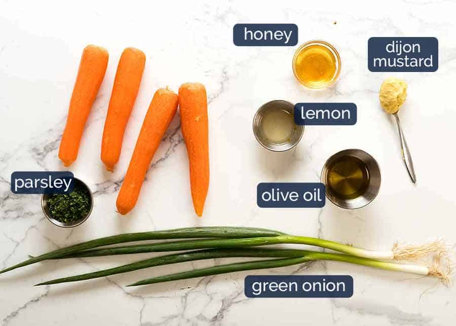 What goes in Carrot Salad