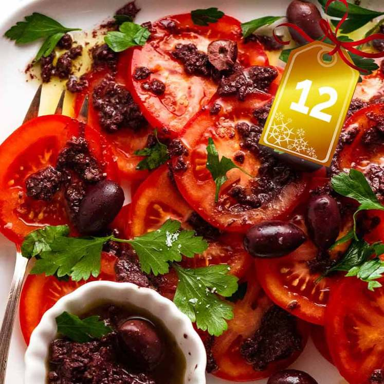 Tomato Salad with Olive Tapenade cover photo