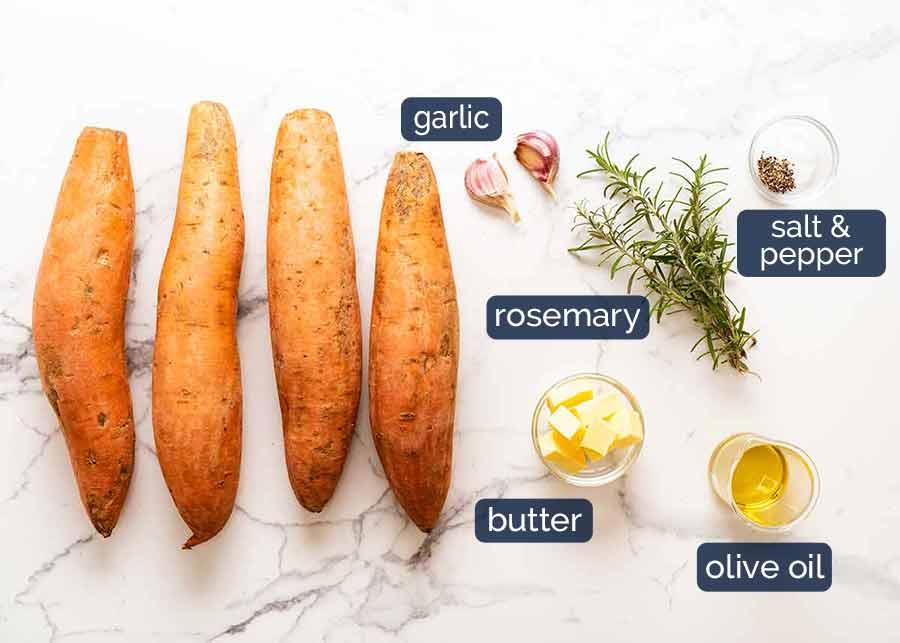 Ingredients in Sweet Potato Bake( side dish)